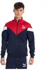 Puma Azul / rojo de Hombre modelo mcs track jacket Deportivo Casacas