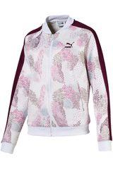 Puma Blanco / rosado de Mujer modelo classics t7 track jacket aop Casacas Deportivo