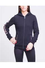 Everlast Negro de Mujer modelo chaqueta publicity Casacas Deportivo