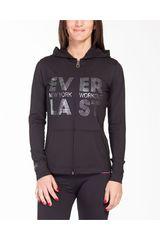 Everlast Negro /gris de Mujer modelo chaqueta litmus Casacas Deportivo