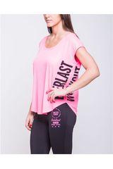 Everlast Rosado / negro de Mujer modelo polera mark Deportivo Polos