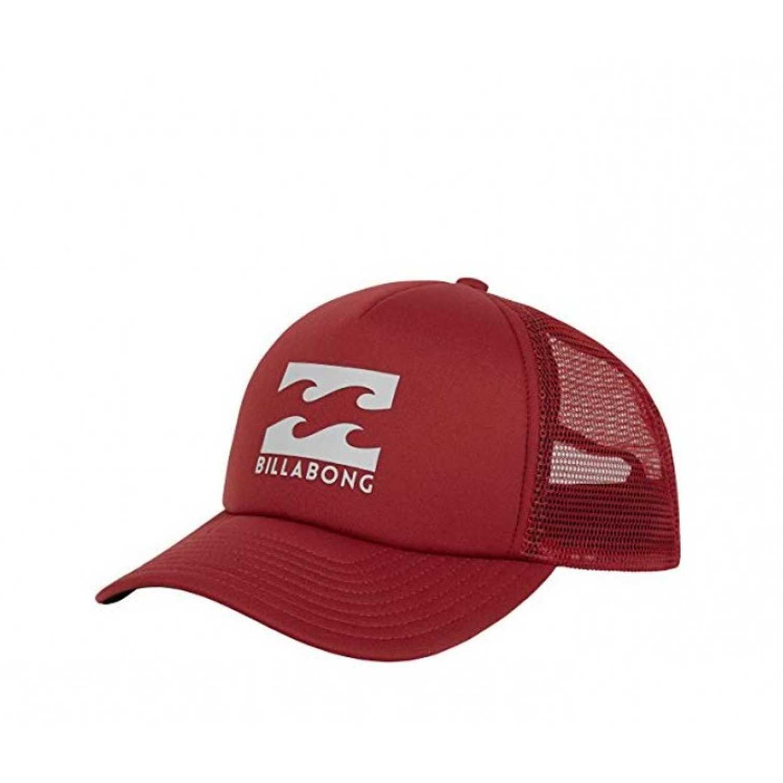 Gorro de Hombre Billabong Rojo / gris podium trucker
