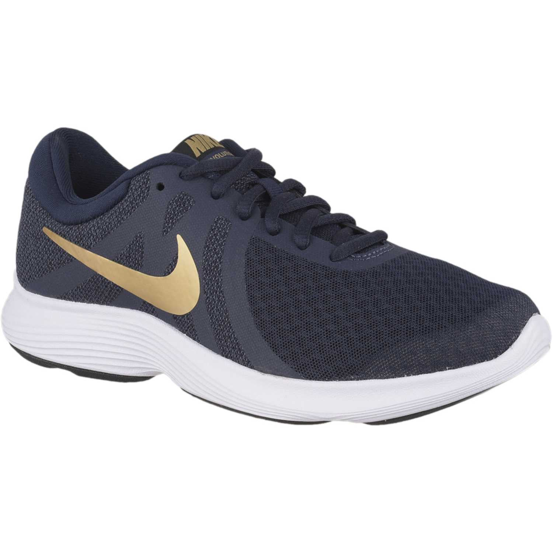 430fe91d391ae Zapatilla de Mujer Nike Azul dorado wmns nike revolution 4 ...