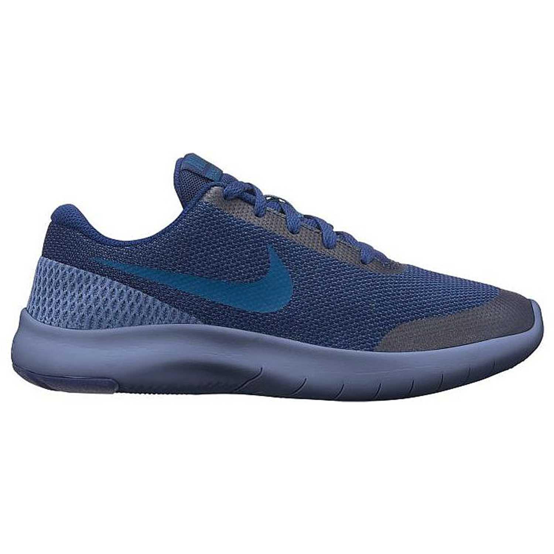 Zapatilla de Jovencito Nike Azul / celeste flex experience rn 7 bg