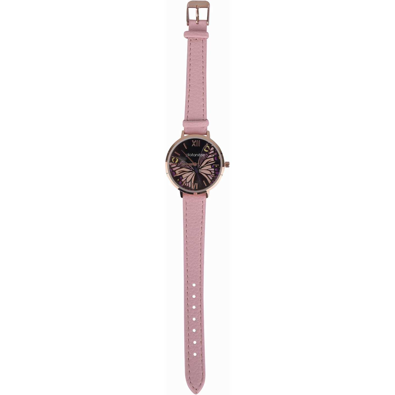 Reloj de Mujer Platanitos Rosado lw5641