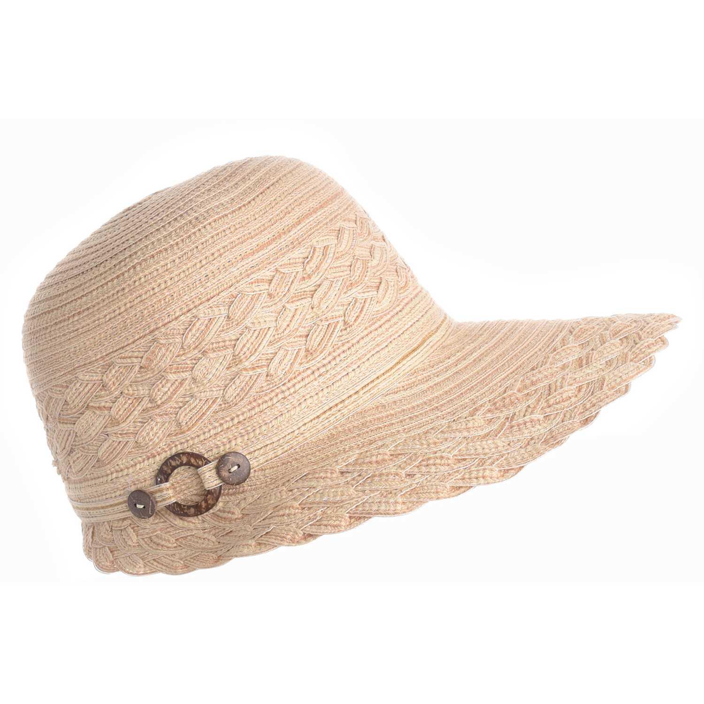 Sombrero de Mujer Platanitos Beige u48-18a