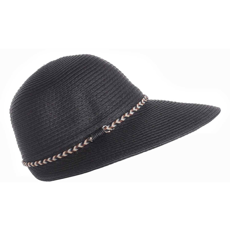 Sombrero de Mujer Platanitos Negro u48-17-a
