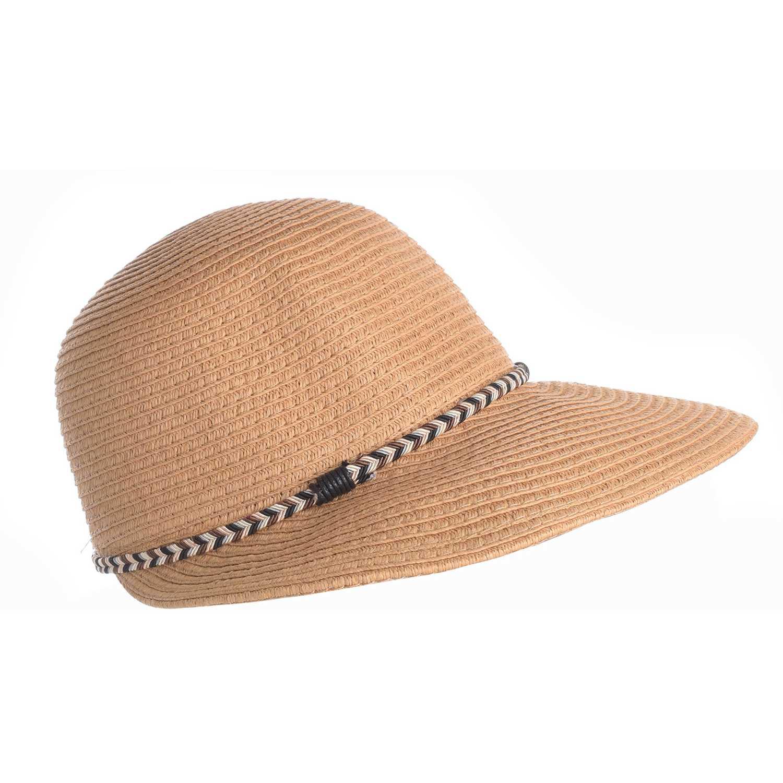 Sombrero de Mujer Platanitos Marron u48-17-a
