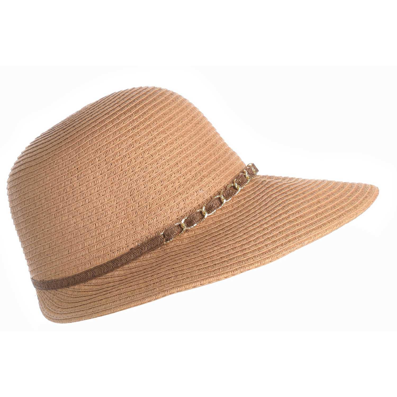 Sombrero de Mujer Platanitos Marron t48-9-a
