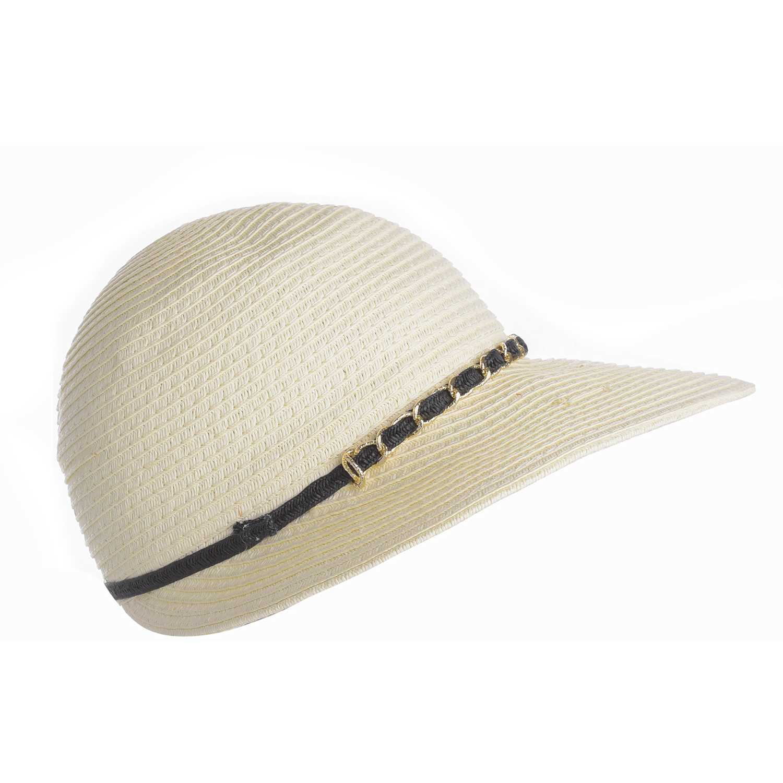 Sombrero de Mujer Platanitos Marfil t48-9-a