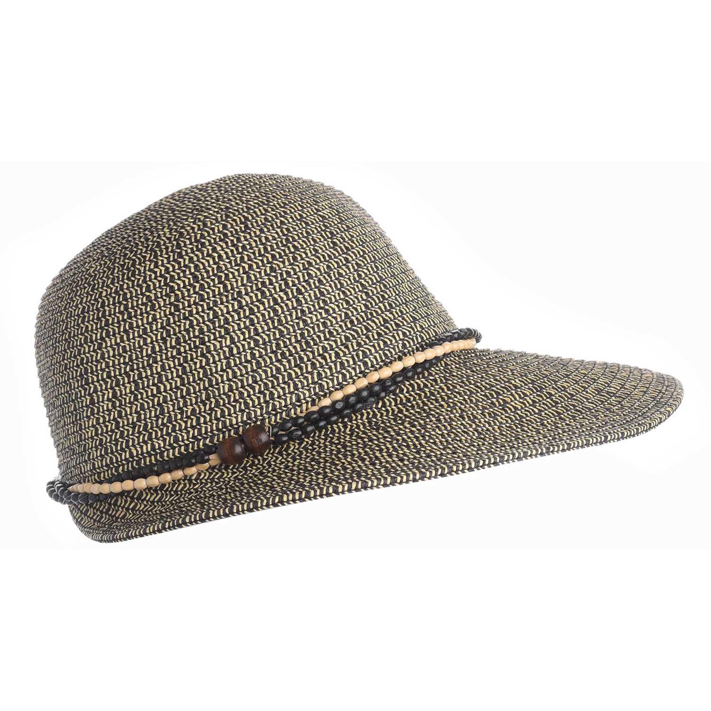 Sombrero de Mujer Platanitos Negro t48-12-a