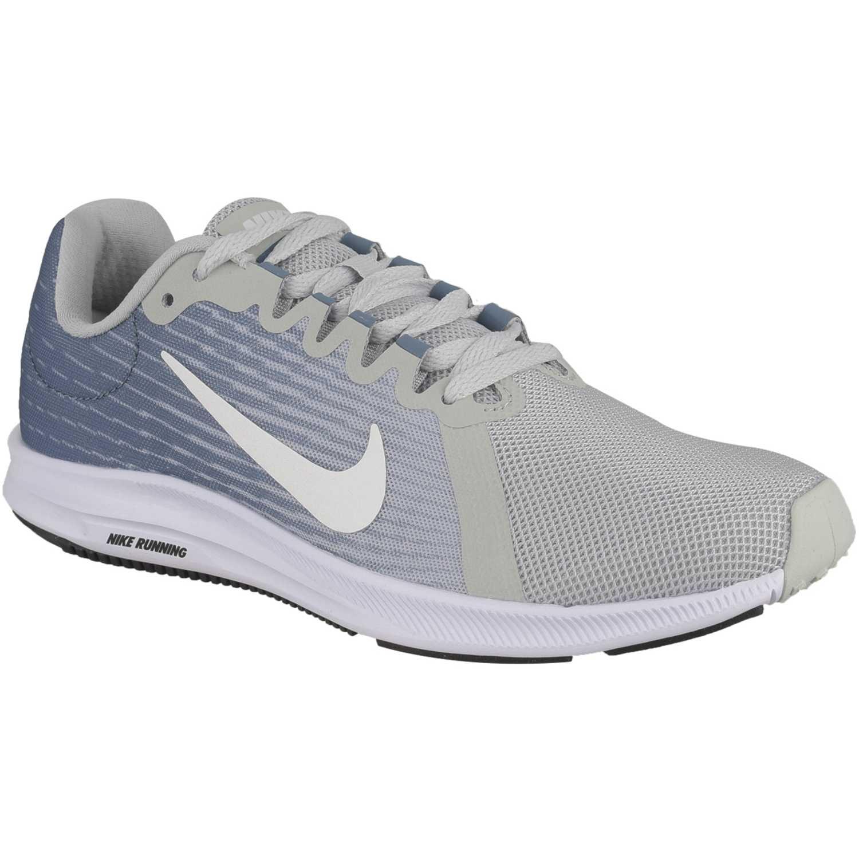9a4eef445acb4 Zapatilla de Mujer Nike Celeste   gris wmns nike downshifter 8 ...