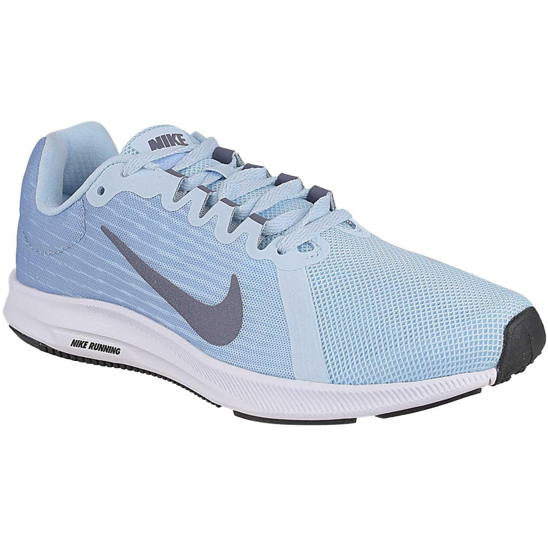 8746780ff0d2b Zapatilla de Mujer Nike Celeste   plomo wmns nike downshifter 8 ...