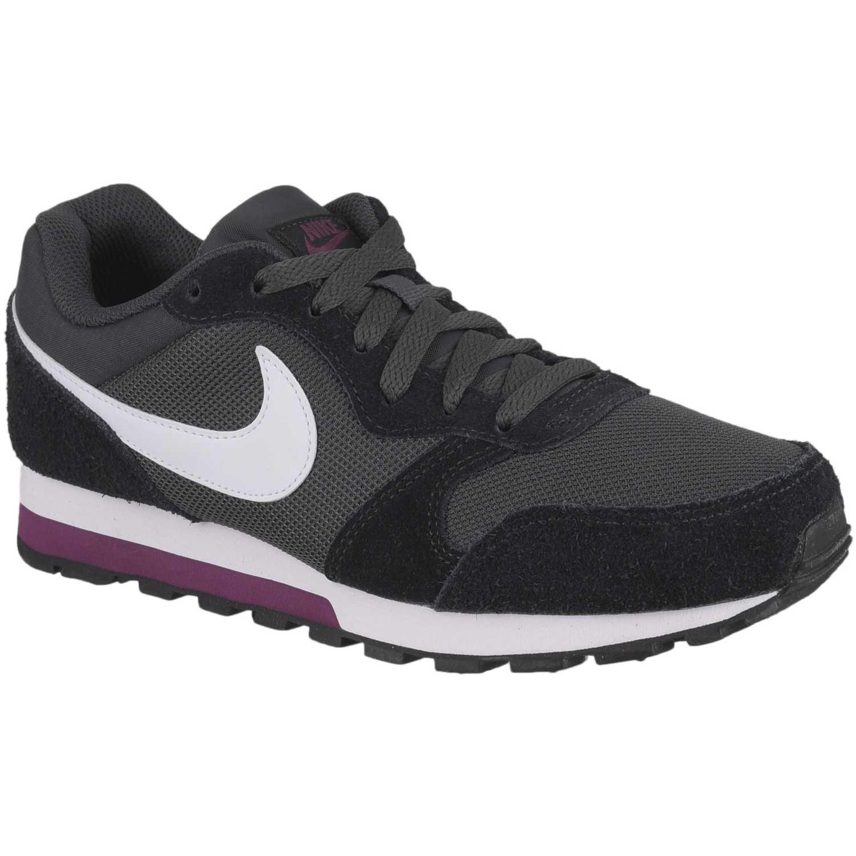 Zapatilla de Mujer Nike Plomo blanco wmns nike md runner 2 ... e8ec0937affd7