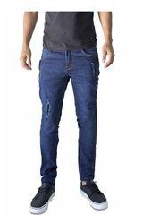 ROCK & RELIGION Celeste de Hombre modelo abraham Jeans Casual Pantalones