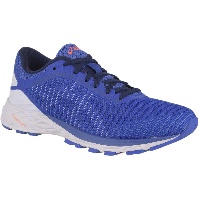 zapatillas mujer asics azules