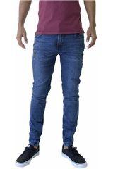 ROCK & RELIGION Azul de Hombre modelo cautiÑo Jeans Casual Pantalones