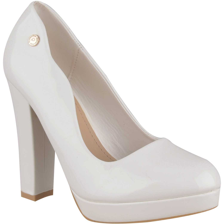 Calzado de Mujer Platanitos Blanco cvp 1052