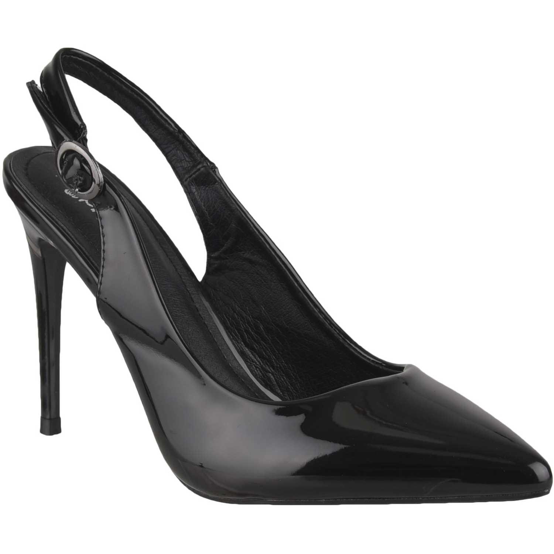 Calzado de Mujer Platanitos Negro cv 5883