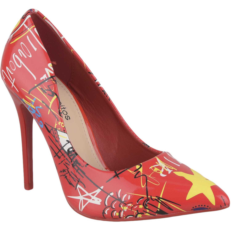 Calzado de Mujer Platanitos Rojo cv 1681