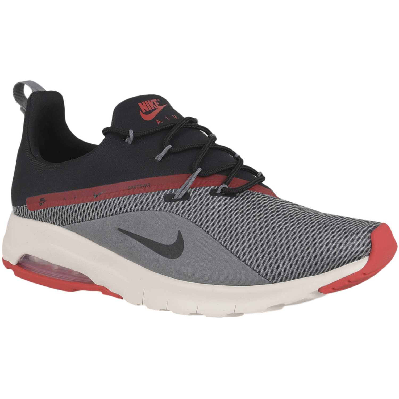 sports shoes fe458 38add Zapatilla de Hombre Nike Gris  rojo air max motion racer 2