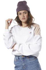 Reebok Blanco de Mujer modelo es crew Poleras Deportivo