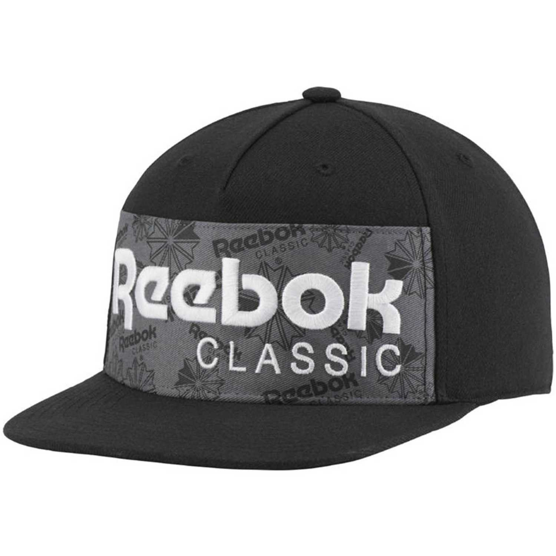 Gorro de Hombre Reebok Negro cl graphic cap  bf9430be734