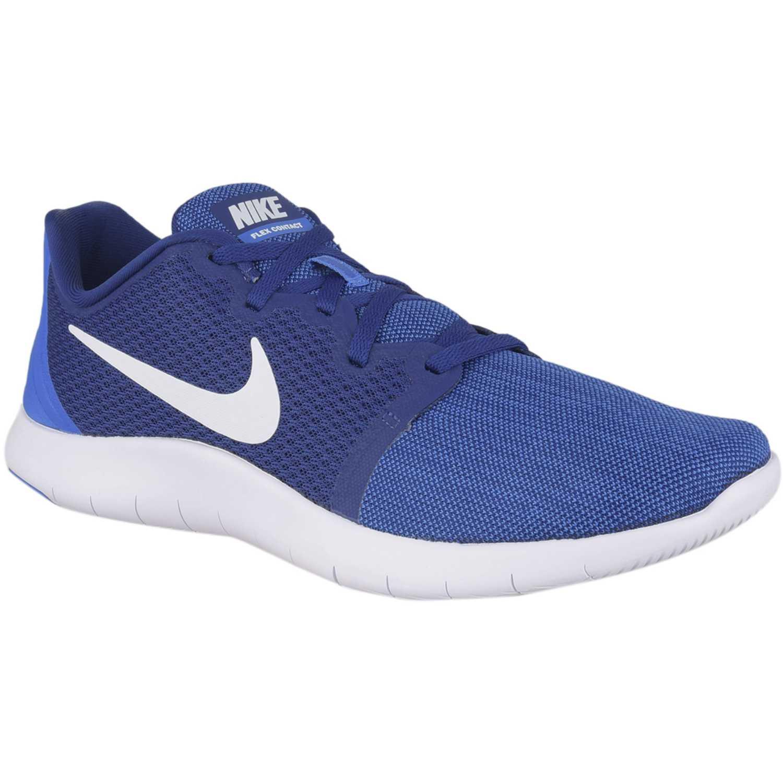 Zapatilla de Hombre Nike Azul / blanco nike flex contact 2