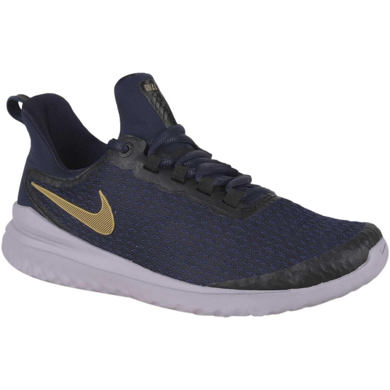 Renew Azuldorado Rival Nike De Zapatilla Wmns Mujer q8aq7