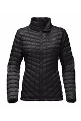 The North Face Negro de Mujer modelo W THERMOBALL FULL ZIP JACKET Deportivo Casacas