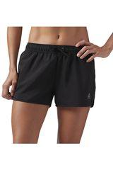 Reebok Negro de Mujer modelo wor woven short Shorts Deportivo