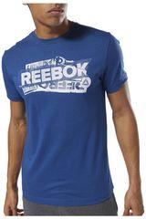 Reebok Azul de Hombre modelo gs opp reebok decal tee Polos Deportivo