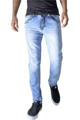 ROCK & RELIGION Celeste de Hombre modelo durant Jeans Casual Pantalones