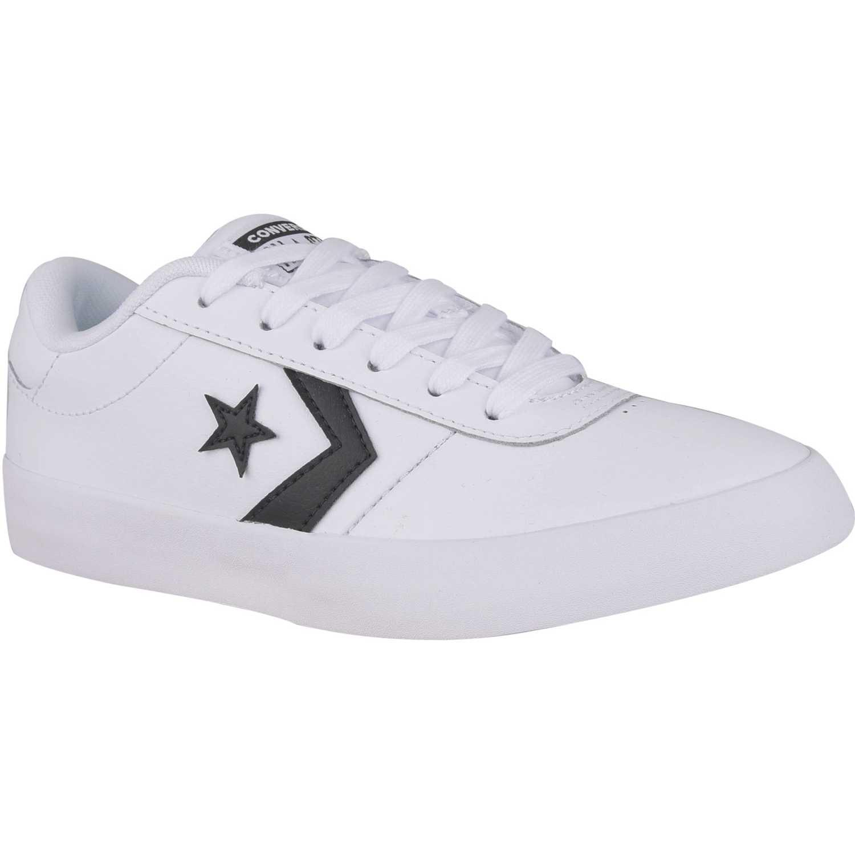 83af178591b45 Zapatilla de Hombre Converse Blanco point star leather
