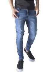 ROCK & RELIGION Azul oscuro de Hombre modelo willys Casual Pantalones Jeans
