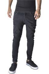 ROCK & RELIGION Negro de Hombre modelo andrei Jeans Casual Pantalones