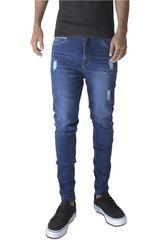 ROCK & RELIGION Azul de Hombre modelo lukas Pantalones Jeans Casual