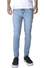 ROCK & RELIGION Celeste de Hombre modelo willys Casual Pantalones Jeans