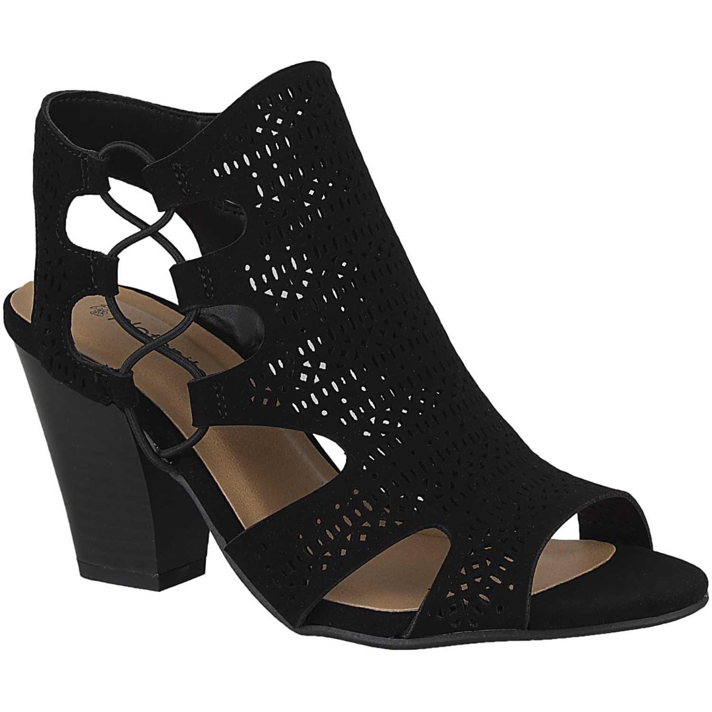 Sandalia de Mujer Platanitos Negro s zuka