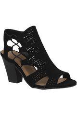 Platanitos Negro de Mujer modelo S ZUKA Tacos Casual Sandalias