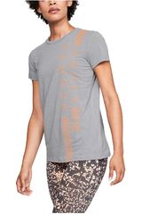 Under Armour Gris/me de Mujer modelo graphic classic crew vertical wm-gry Deportivo Polos