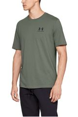 Polo de Hombre Under Armour Plomo sportstyle left chest ss-grn