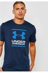 Under Armour Azul de Hombre modelo ua gl foundation ss t-nvy Deportivo Polos
