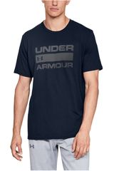 Under Armour Navy de Hombre modelo ua team issue wordmark ss-nvy Polos Deportivo