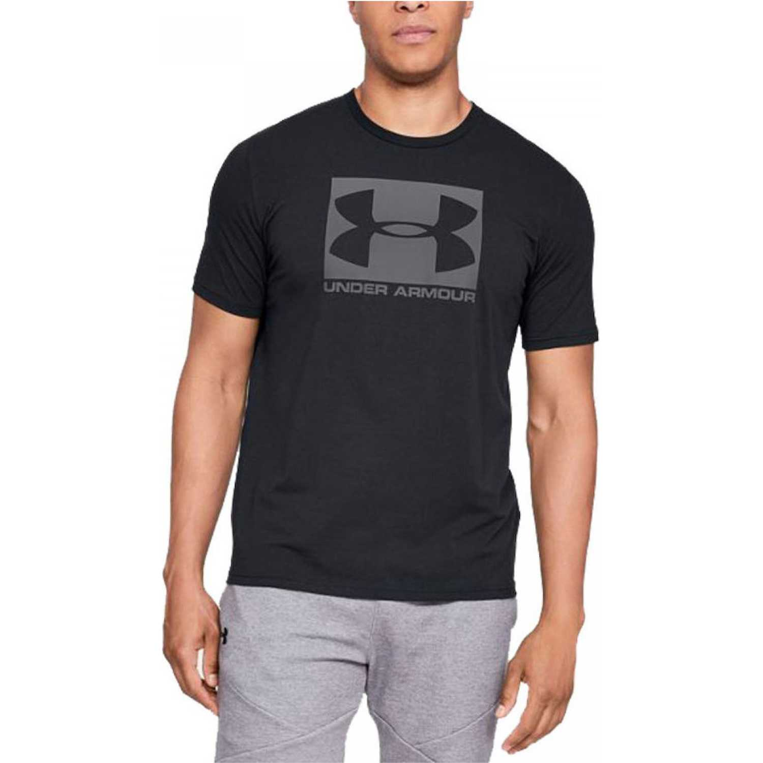 1ad381066ed05 Polo de Hombre Under Armour Negro ua boxed sportstyle ss-blk ...