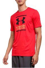 Under Armour Rojo de Hombre modelo ua gl foundation ss t-red Deportivo Polos