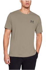 Polo de Hombre Under Armour Gris sportstyle left chest ss-brn