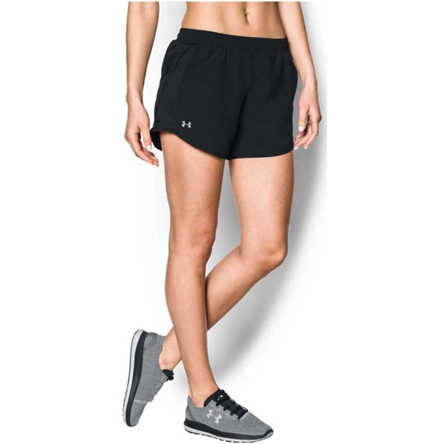 13b23af0ec8 Short de Mujer Under Armour Negro fly by short | platanitos.com