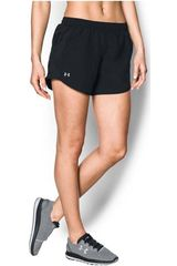 Under Armour Negro de Mujer modelo fly by short Deportivo Shorts