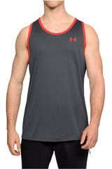 Bividi de Hombre Under Armour Plomo ua threadborne tank
